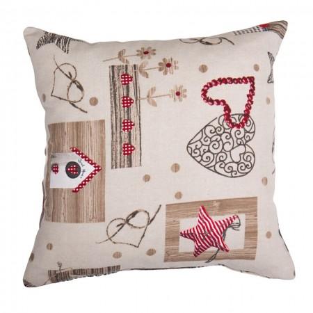Декоративна възглавница с пълнеж